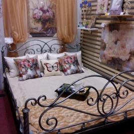 """Кованая кровать """"Жозефина"""""""