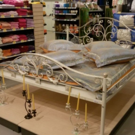 """Кованая кровать """"Имератрица"""""""