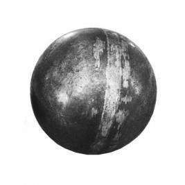 Шар стальной пустотелый 100 мм