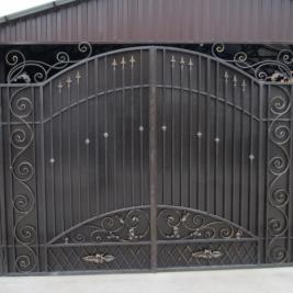 Кованые ворота В-003, кв.м.
